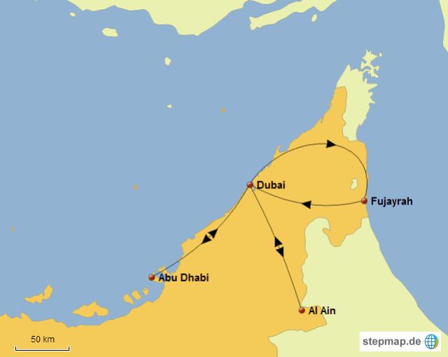 tour negli Emirati Arabi