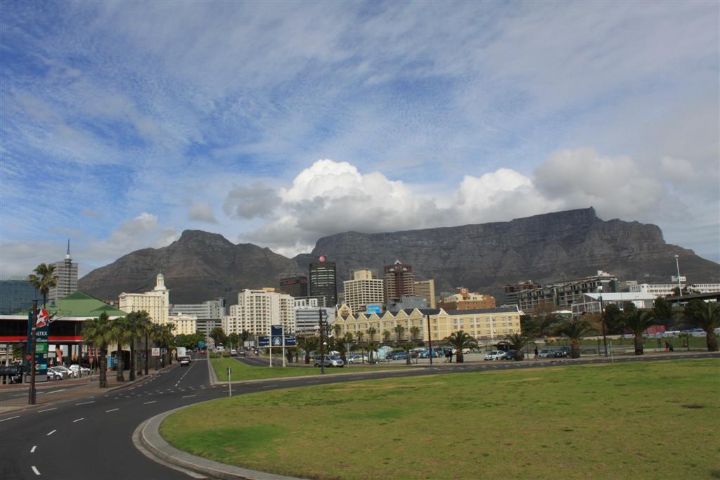 Sightseeing a Città del Capo