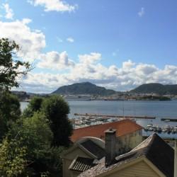 La vista su Bergen