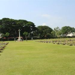 Il cimitero di guerra di Kanchanaburi