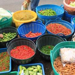 Il mercato di Samut Songkhram