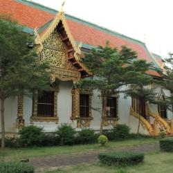Il parco del tempio