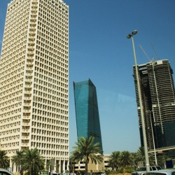 In centro finanziario di Dubai