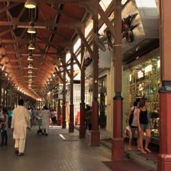 Passeggiata attraverso il souk
