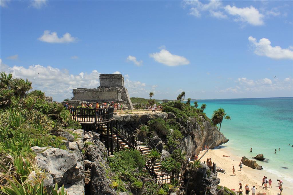 Tulum e il mare caraibico