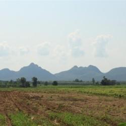 Le montagne al confine con la Birmania