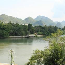 Le montagne thailandesi a occidente