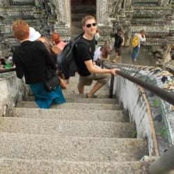 Le ripide scalinate