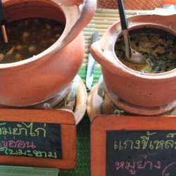 Le zuppe thailandesi