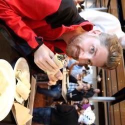 A pranzo rotolini di pollo e salmone