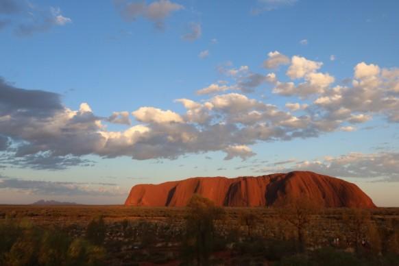 Alba e tramonto a Uluru