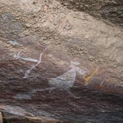 I dipinti di Nourlangie Rock