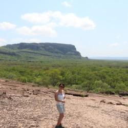 Il Nourlangie Rock sullo sfondo
