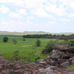 La vista verso Arnhem Land